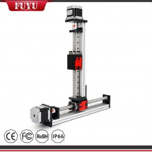 Linear Positioning System XY Stage 2 Axis Vertical Motion Table