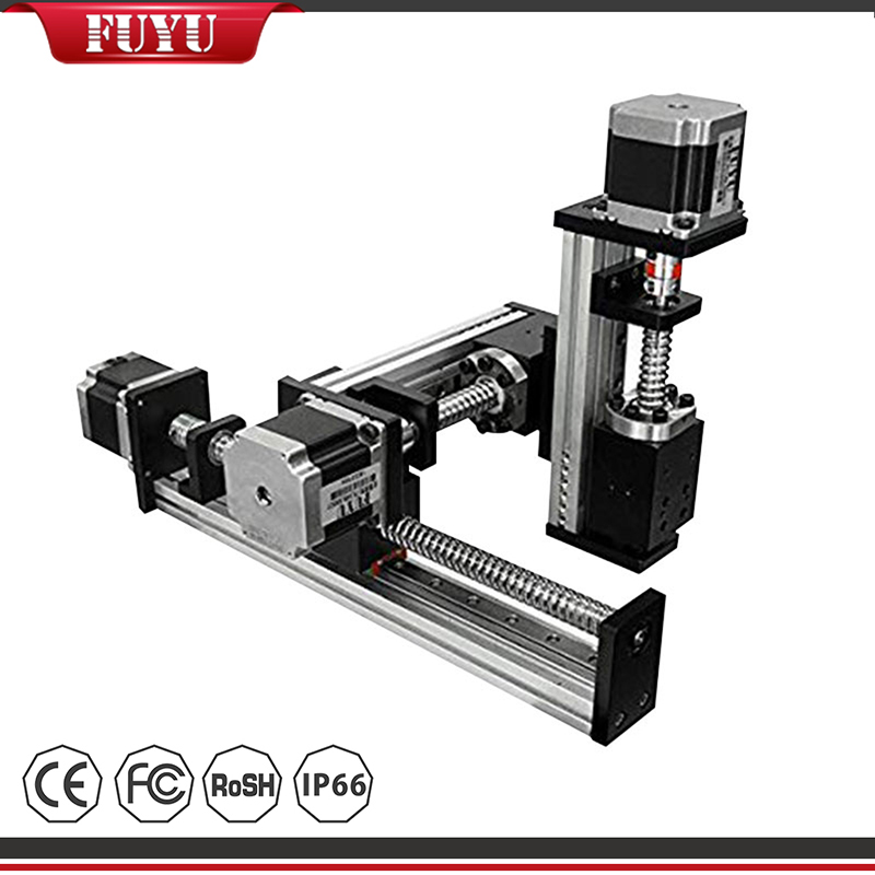 XYZ Stage Ball Screw Motor Driven Linear Positioning System Featured Image