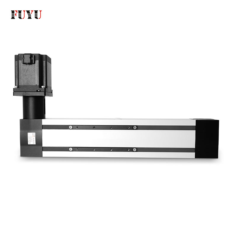 Dual Rail Four Slider Belt Driven High Speed Long Stroke Linear Guide Rail Featured Image