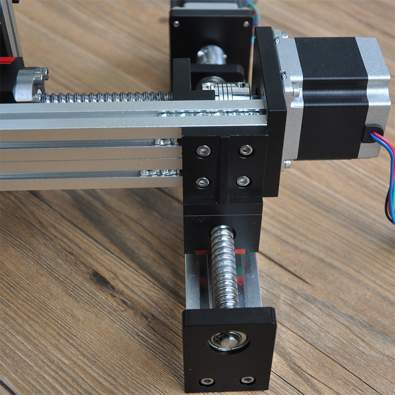 XYZ Stage Ball Screw Motor Driven Linear Positioning System