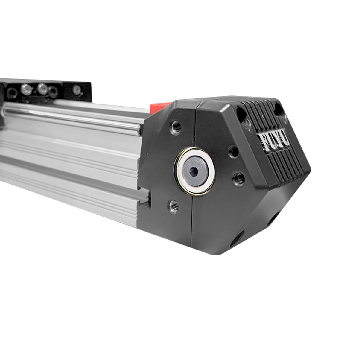 Actuador lineal ligero accionado por correa de riel guía de doble eje de alta velocidad