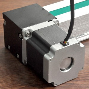 High Speed Belt Driven Linear Actuator with Stepper Motor