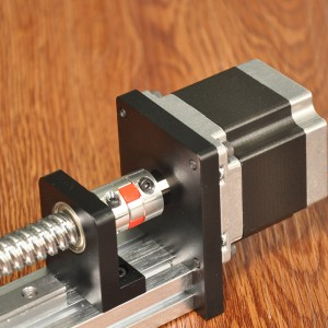 Linear 2 Axis Guide Rail Motor Drive Ball Screw XY Stage
