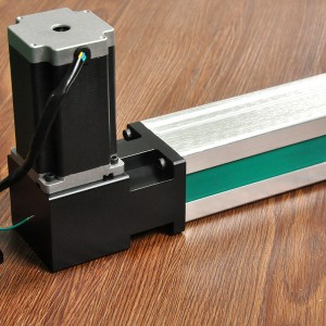 Long Stroke Belt Driven Aluminium Linear Guide Rail