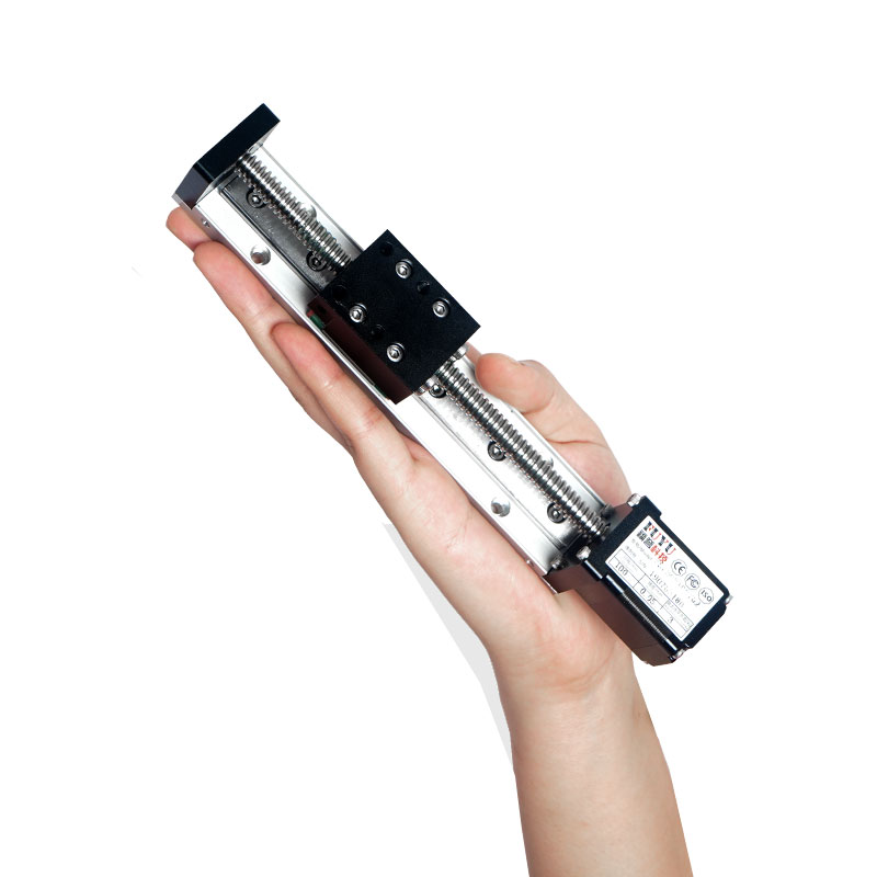 Миниатюрный алюминиевый профиль Малая и легкая линейная направляющая с шаговым двигателем