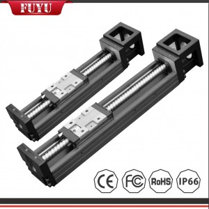 Miniature Linear Guide Slide high precision 0.02mm dual rail with 4 slider