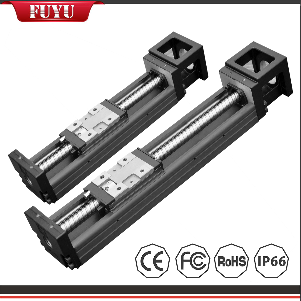 Miniature Linear Guide Slide high precision 0.02mm dual rail with 4 slider Featured Image
