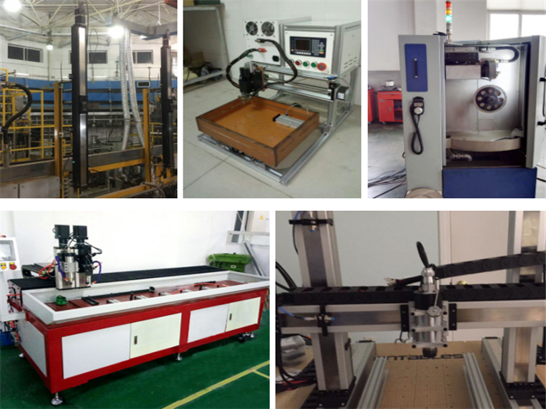 15 kinds of Industrial robots for automated linear guide