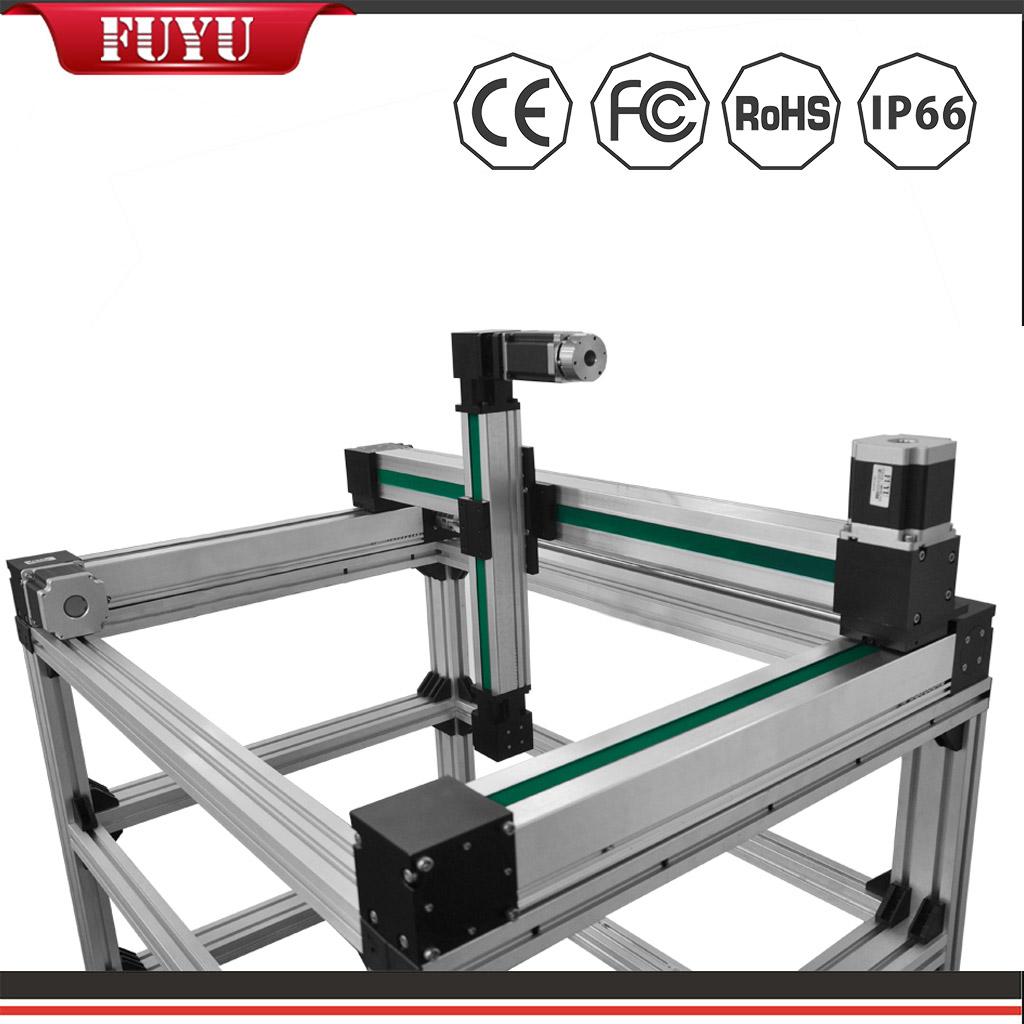 Mesa de aleación de aluminio para sistema de posicionamiento lineal