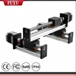 Factory Sale Ball Screw Linear Gantry Module CNC