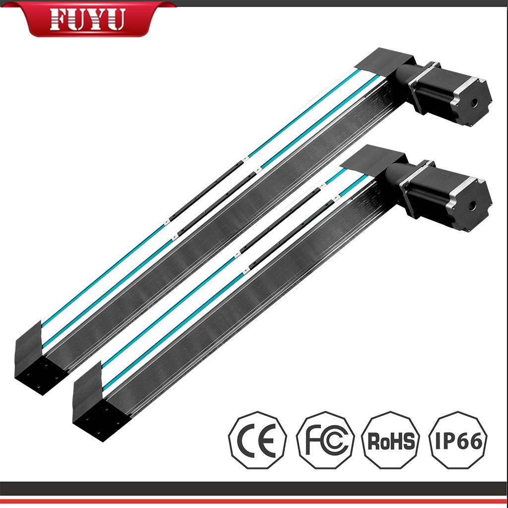 Dual Rail Four Slider Belt Driven Aluminium Linear Guide Rail 4000mm/s Featured Image