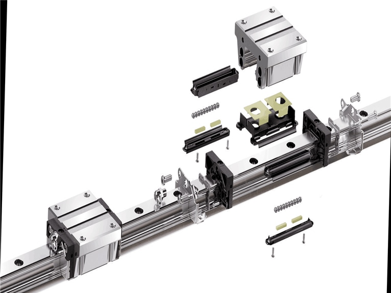 What are the Differences Between Plain and Rolling Linear Guides?