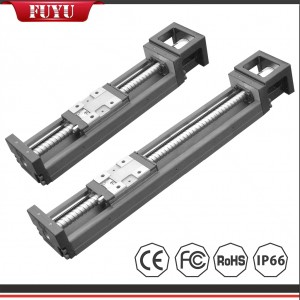 Ball Screw Steel Linear Motion Guide Embedded Slider Low Noise
