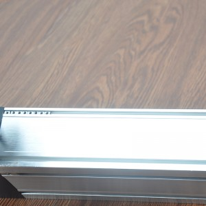 Dual Rail Four Slider Belt Driven Aluminium Linear Guide Rail 4000mm/s