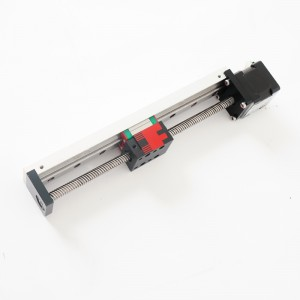 Aluminum Profile Small and Light Linear Guide Rail Micro Linear Actuator with Stepper Motor