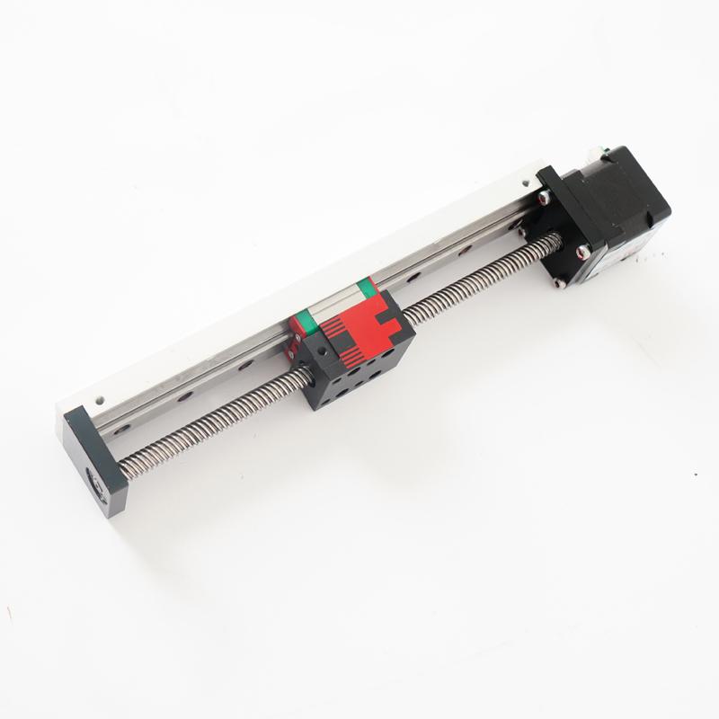 Малый и легкий алюминиевый профиль с линейным направляющим рельсом Микро-линейный привод с шаговым двигателем