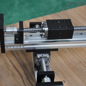 Manufacturer Price Ball Screw Linear Axis Robotic Arm