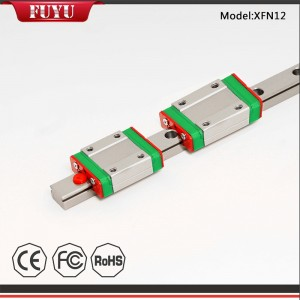 High Speed Low Price Compact Aluminum Linear Rail Guide Slider
