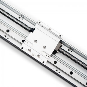 Aluminum Profile Rail Guide High Precision Ball Screw Linear Actuator