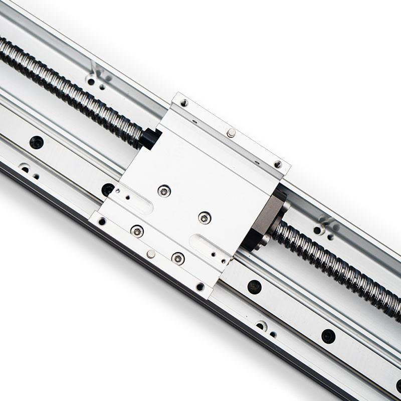 Aluminum Profile Rail Guide High Precision Ball Screw Linear Actuator