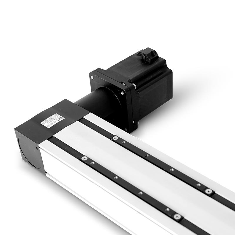 Dual Rail Four Slider Belt Driven High Speed Long Stroke Linear Guide Rail