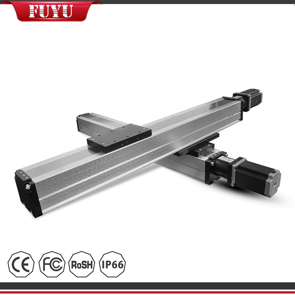 Linear Motion Stage Horizontal 2 Axis Motor Drive Rail Guide Featured Image