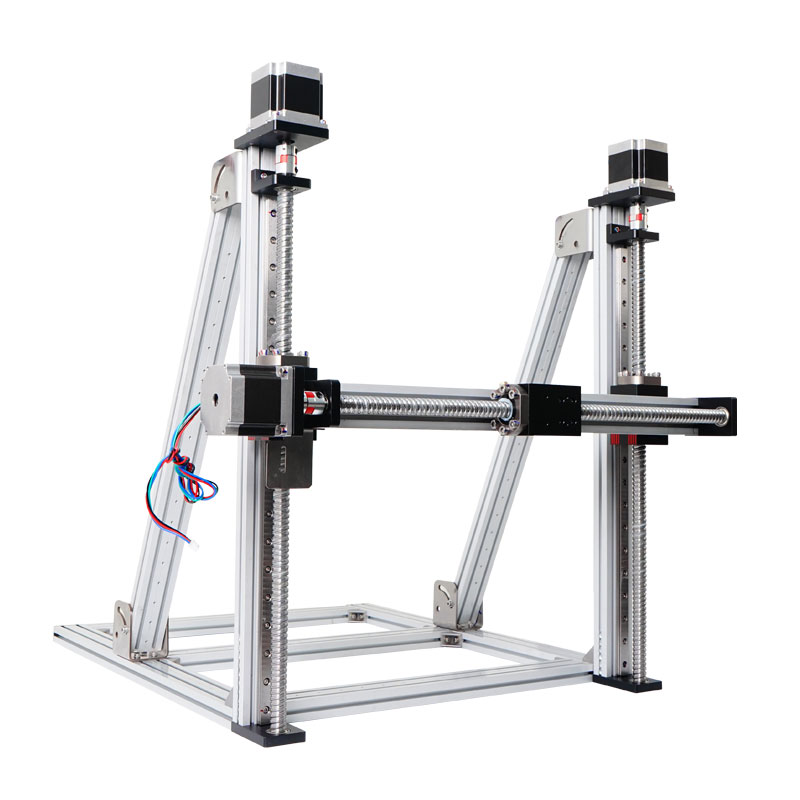 Multi-axis Motion Table Linear Gantry System Vertical XYZ Stage