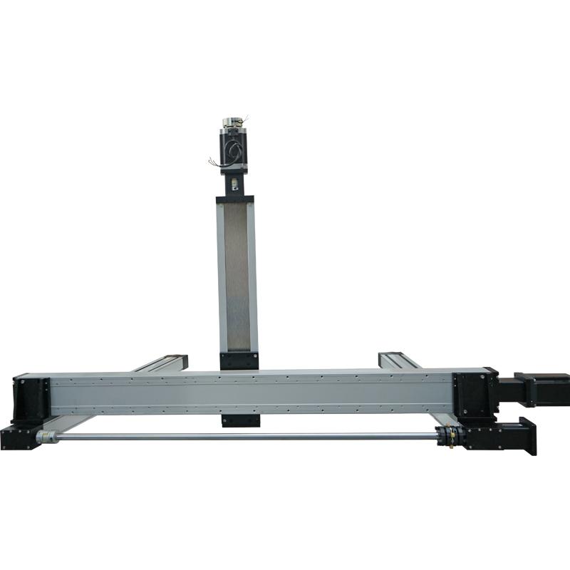 Dustproof Linear Gantry System High Speed Long Stroke Belt Driven Rail Guide