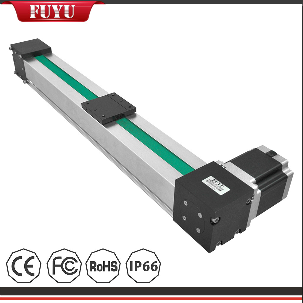 High Speed Belt Driven Linear Actuator with Stepper Motor Featured Image