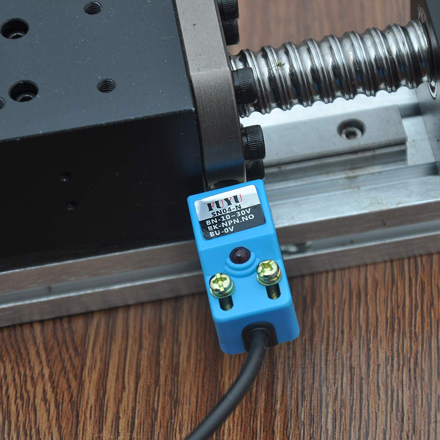 Electromagnetic Induction Limit Switch for Linear Motion System