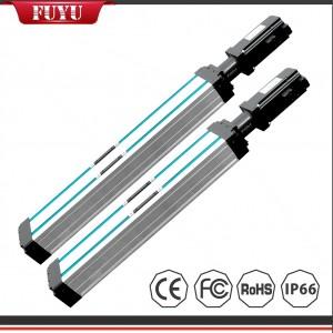 سبيكة الألومنيوم محرك سيرفو الكرة اللولبية الخطية وحدة المتكررة 0.02mm دقة تحديد المواقع