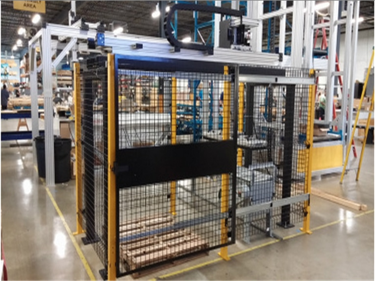 Automation Palletizing Linear Positioning System