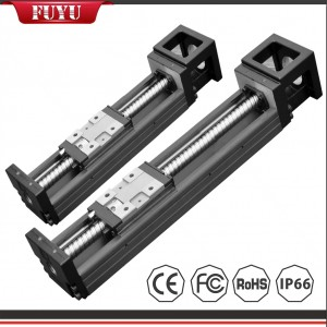 Micro Linear Guide Rail Steel Ball Screw Motorized Positioning Stage