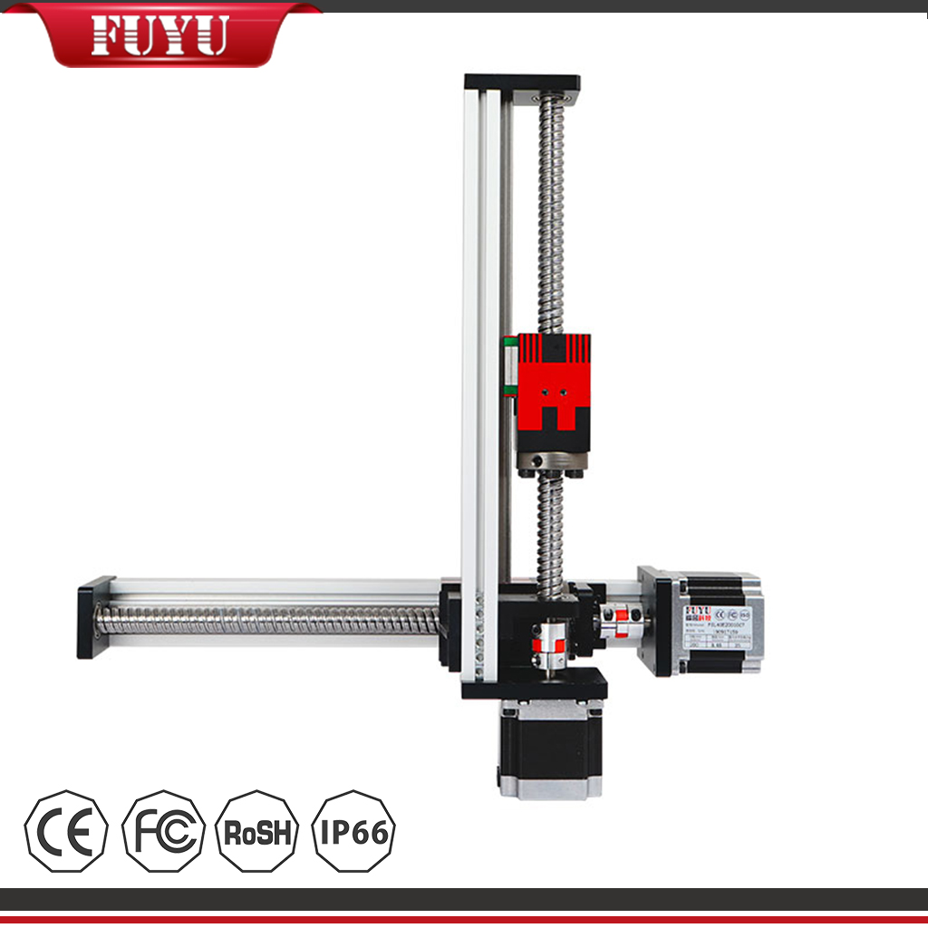 Linear 2 Axis Guide Rail Motor Drive Ball Screw XY Stage Featured Image