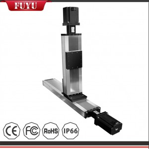 High Rigidity 120mm Width Linear Positioning Table