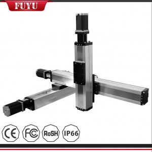 Dustproof Linear Motion System Cartesian Robot for Milling Machine Laser Robotic Arm